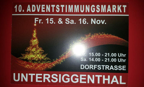 Adventsstimmungsmarkt in Untersiggenthal